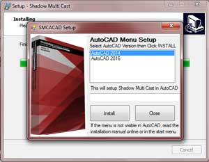 Shadow Multi Cast Shadow Diagram software for AutoCAD - How to